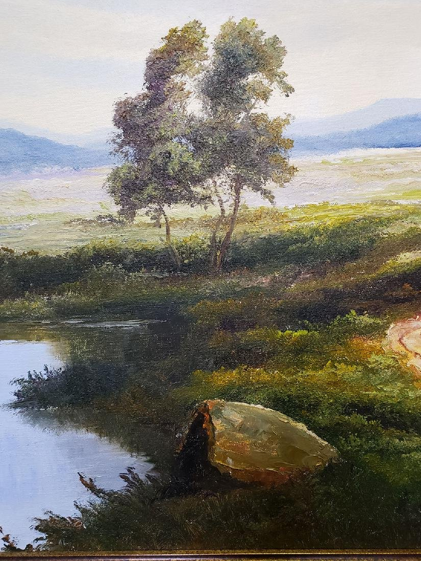 Ron Williams Oil on Canvas Landscape Painting - 6