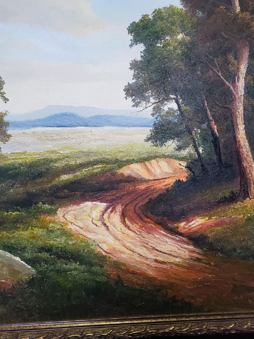 Ron Williams Oil on Canvas Landscape Painting - 7