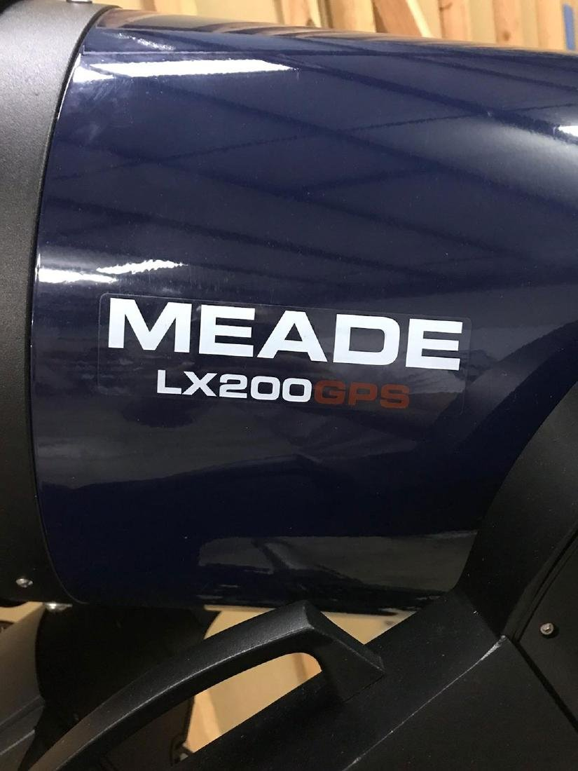 Meade Telescope LX200 GPS w/ access./Lenses/software - 2