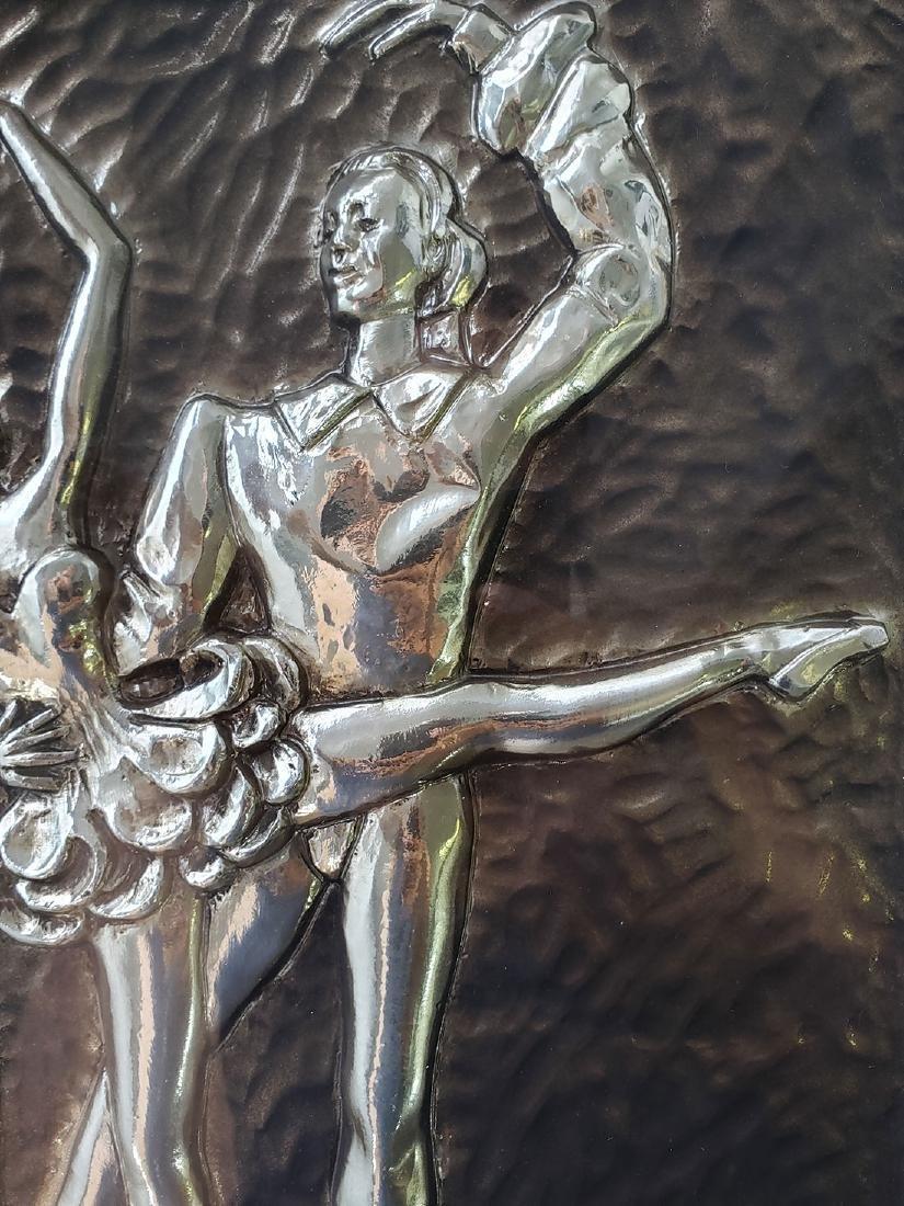 Sebet Silverman Relief Art - Ballerina