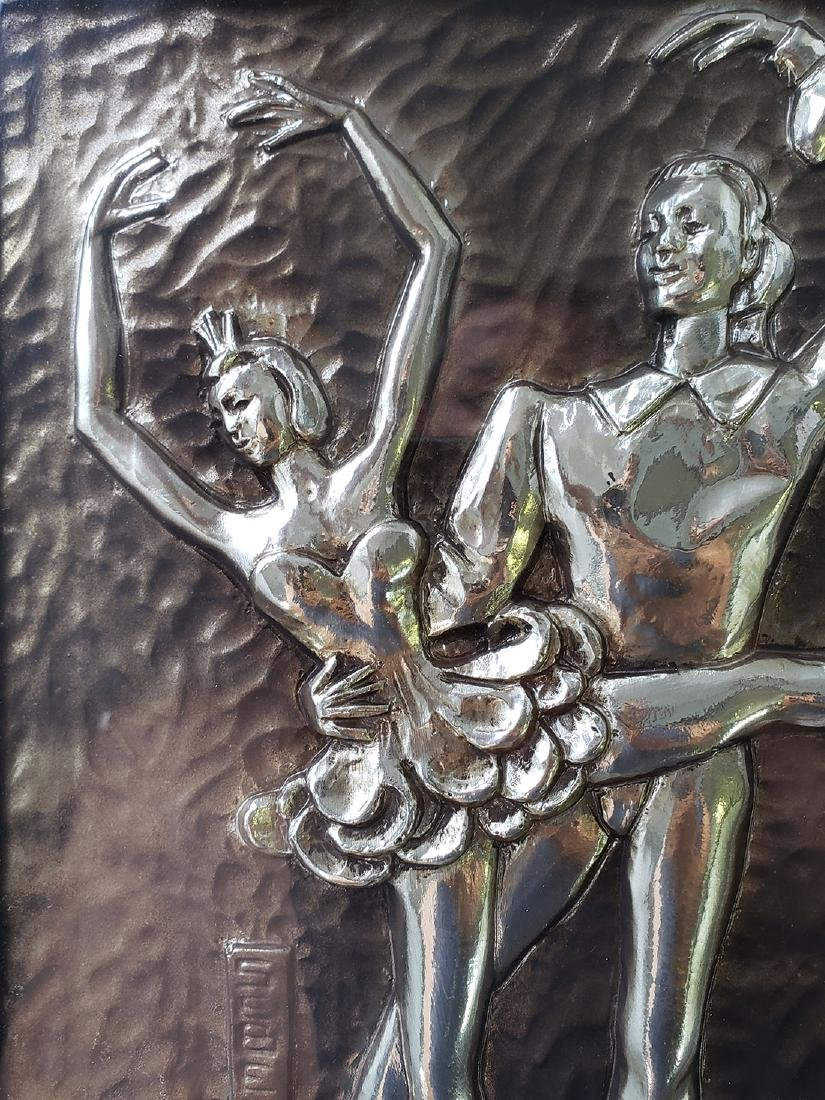 Sebet Silverman Relief Art - Ballerina - 2