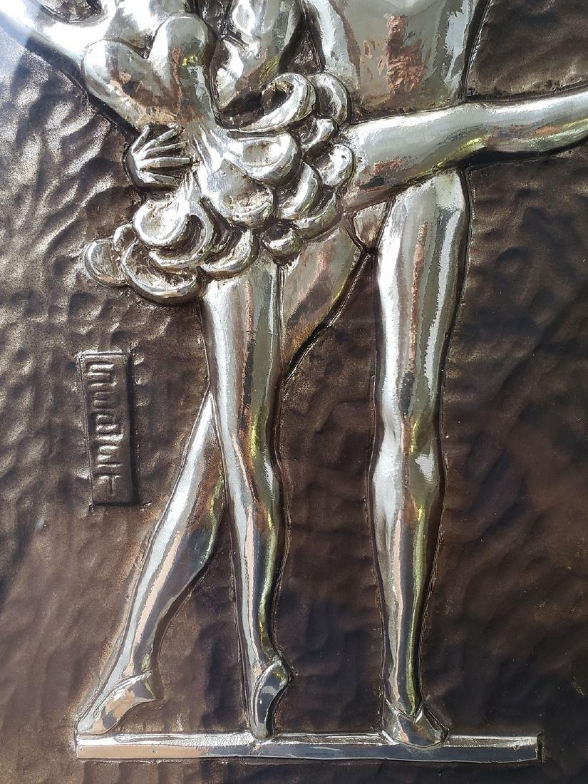 Sebet Silverman Relief Art - Ballerina - 3