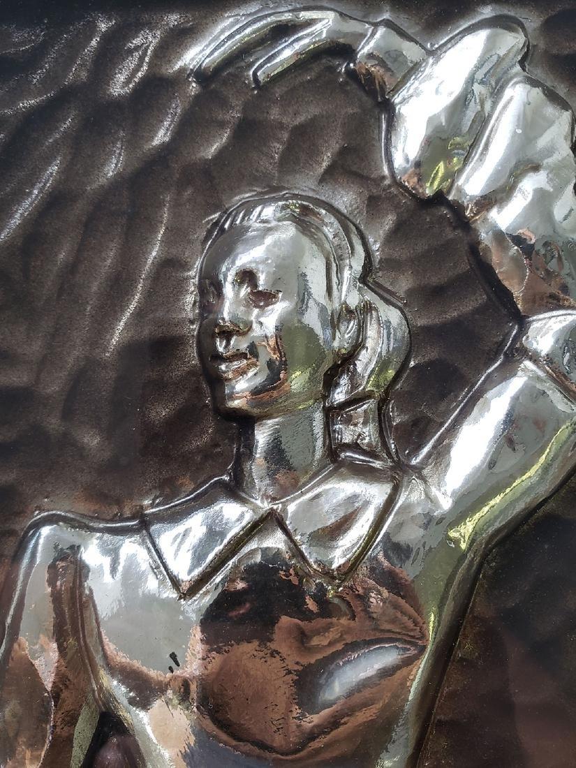 Sebet Silverman Relief Art - Ballerina - 4