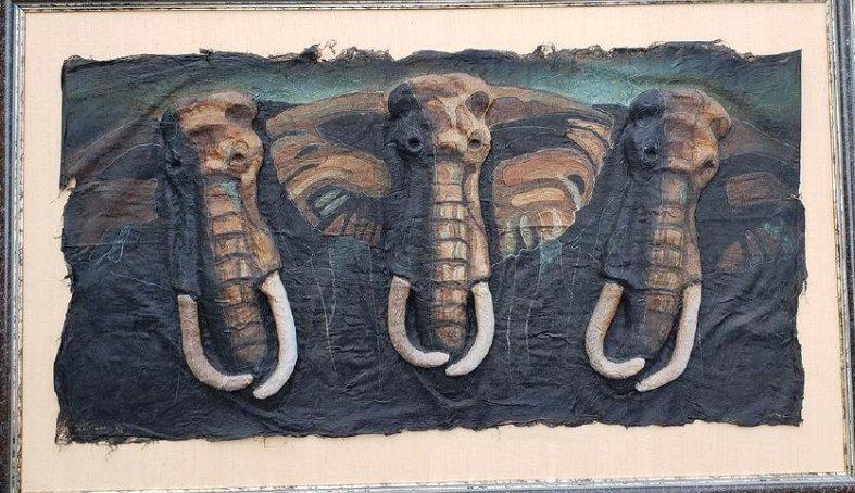 Quincy Verdun Elephant Art 23/190