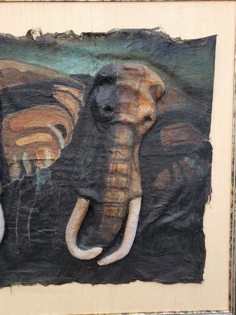 Quincy Verdun Elephant Art 23/190 - 3