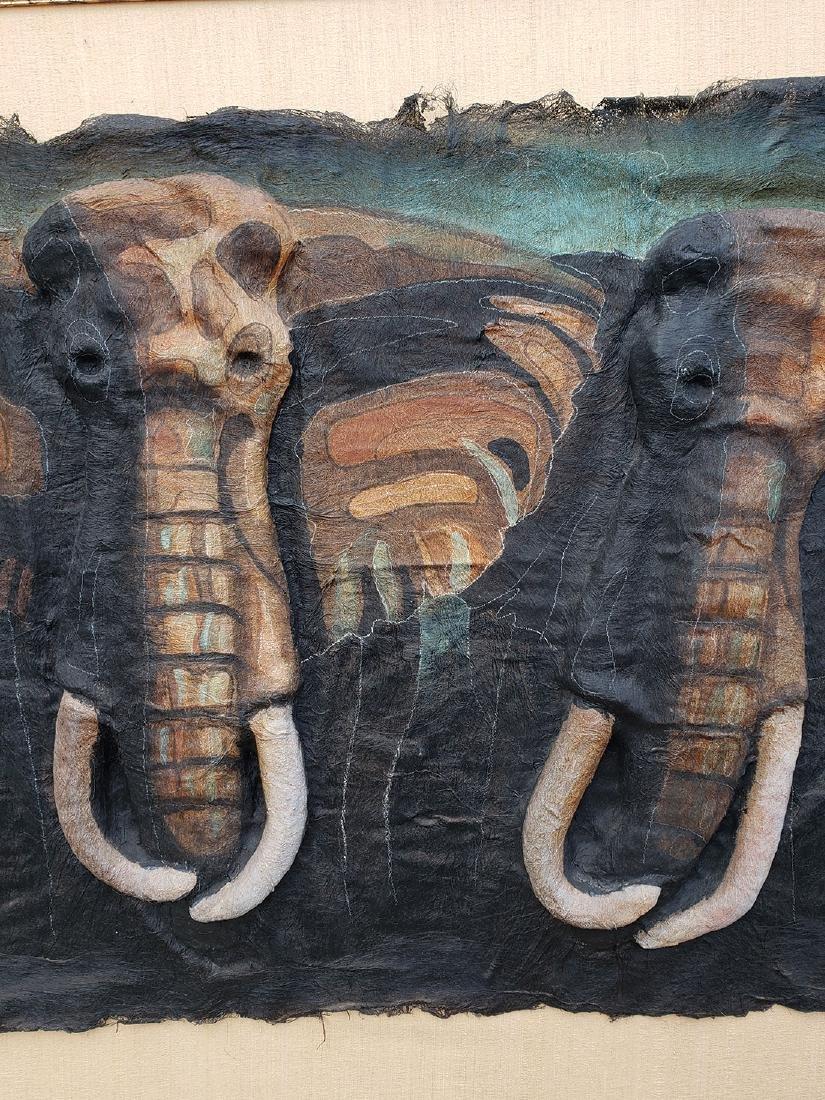 Quincy Verdun Elephant Art 23/190 - 4