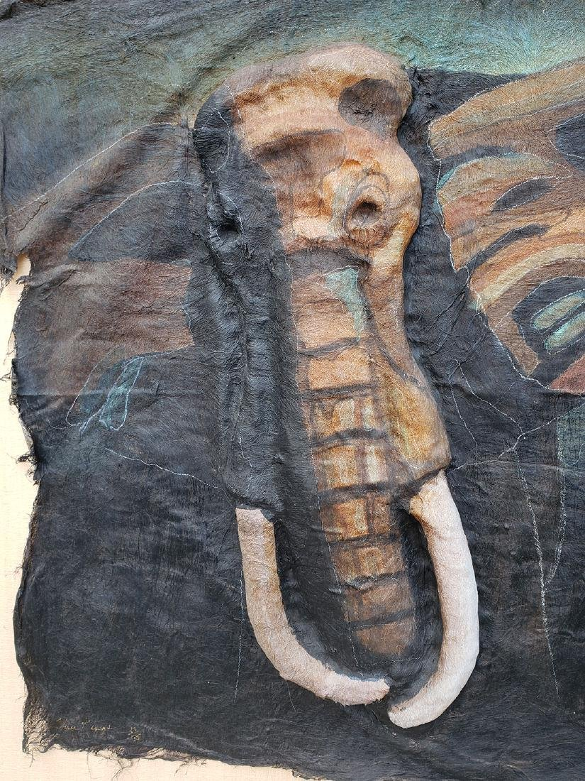 Quincy Verdun Elephant Art 23/190 - 7