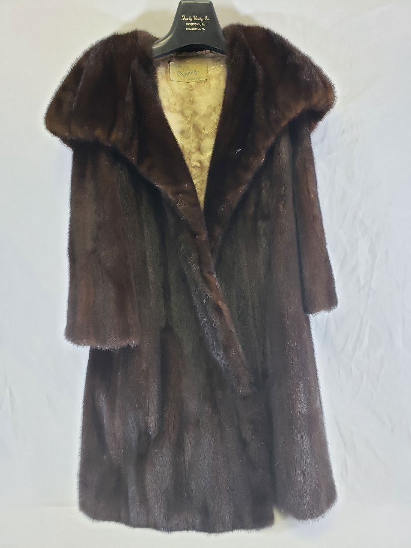 Ladies Mink Coat - 5