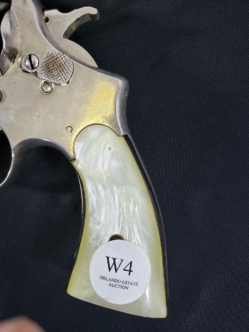 Smith & Wesson .38 w/Holster 1914 Patent date. - 10