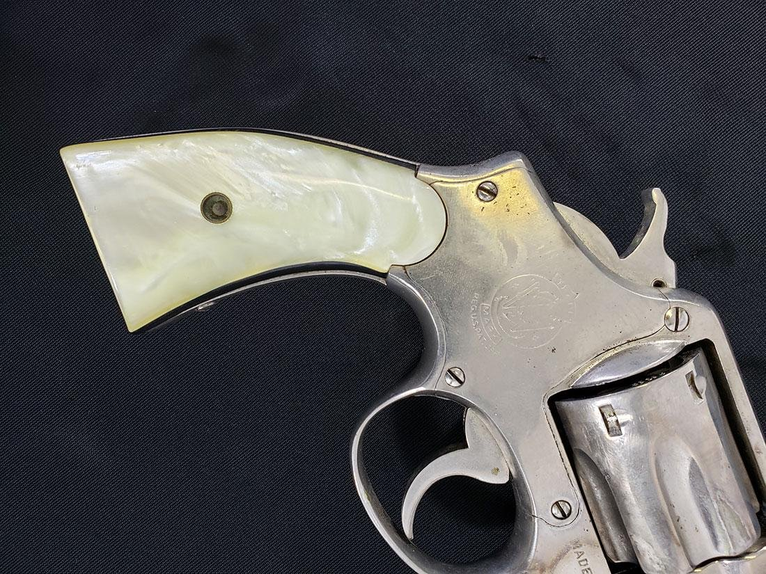 Smith & Wesson .38 w/Holster 1914 Patent date. - 3