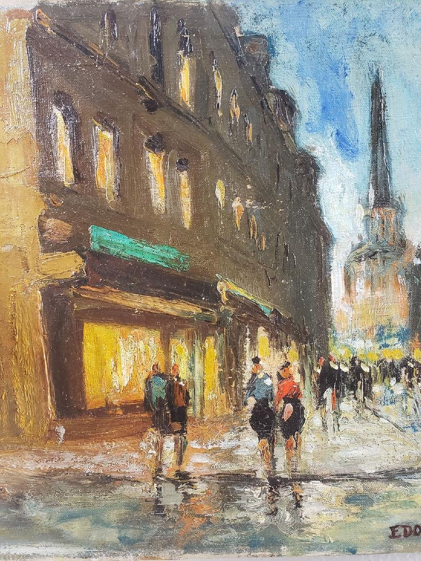 Edouard Cortes Oil on Canvas Painting, unframed - 5