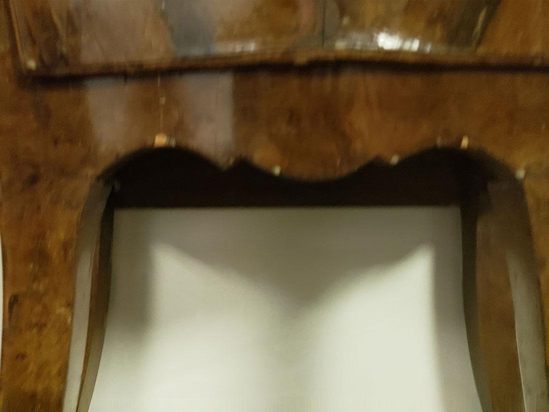 Pair of French Burled Walnut Chests / Marble top/Mirror - 10