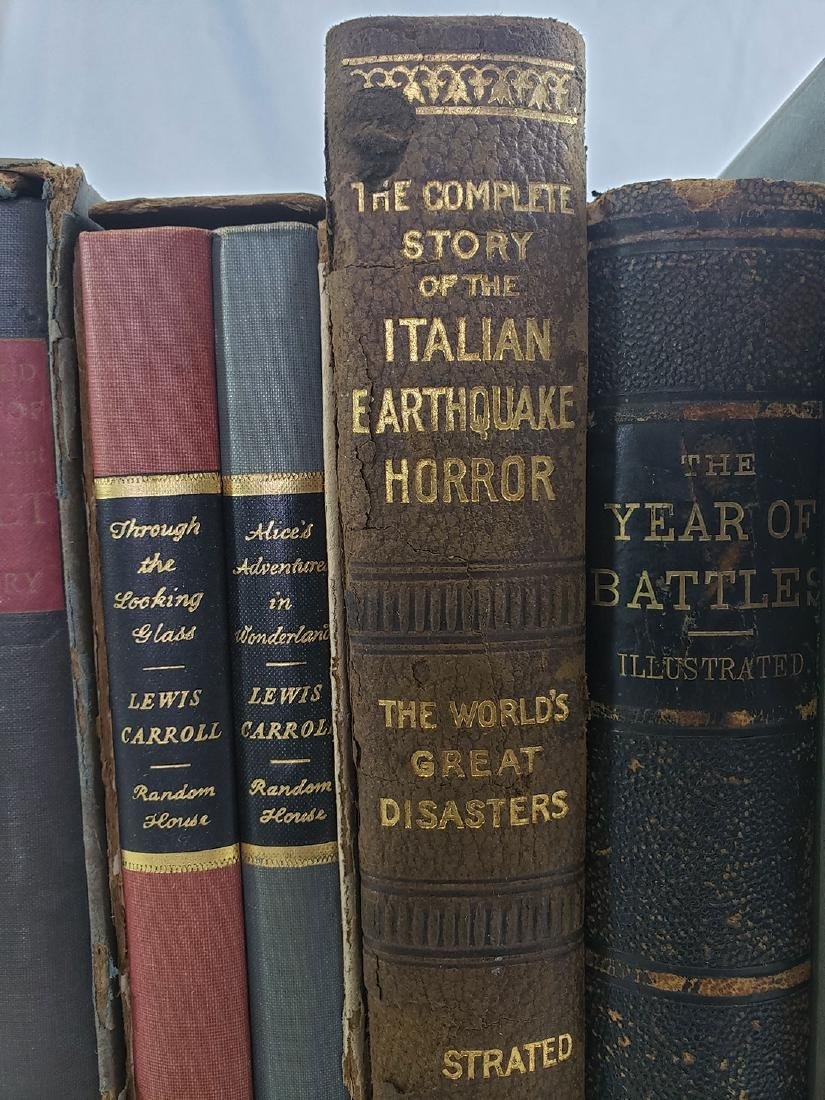 Estate Book Lot - Italian Earthquake, 1909, War, Battle - 3