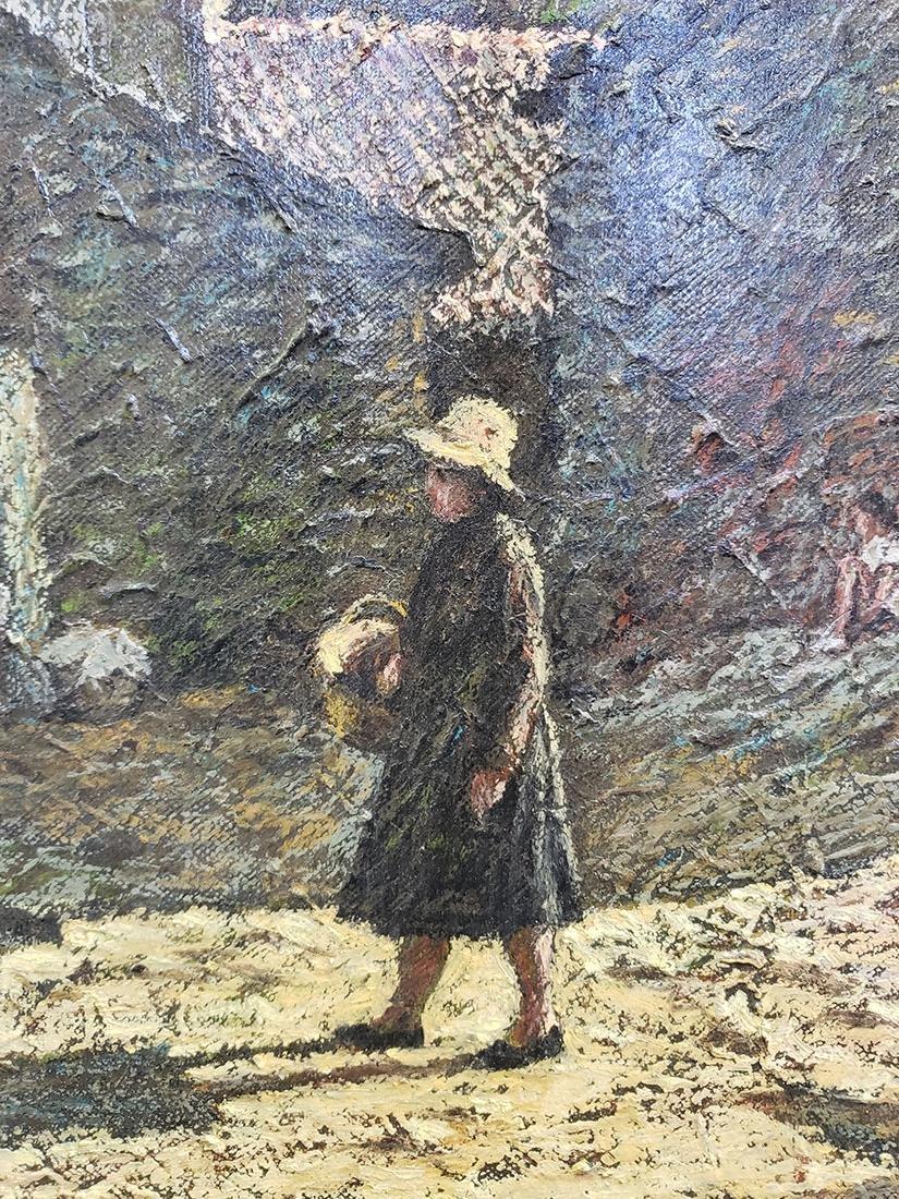 Oil on Canvas Jose Maria Fernandez Aguillo 1970 - 2