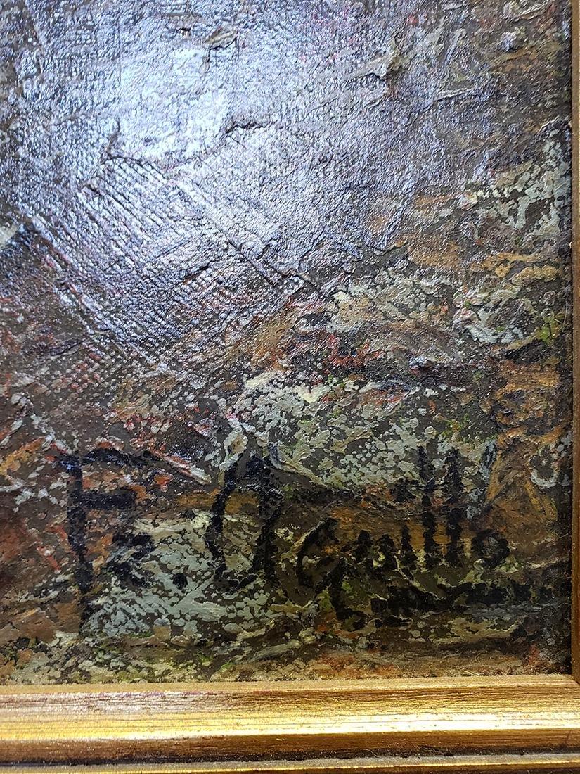 Oil on Canvas Jose Maria Fernandez Aguillo 1970 - 3