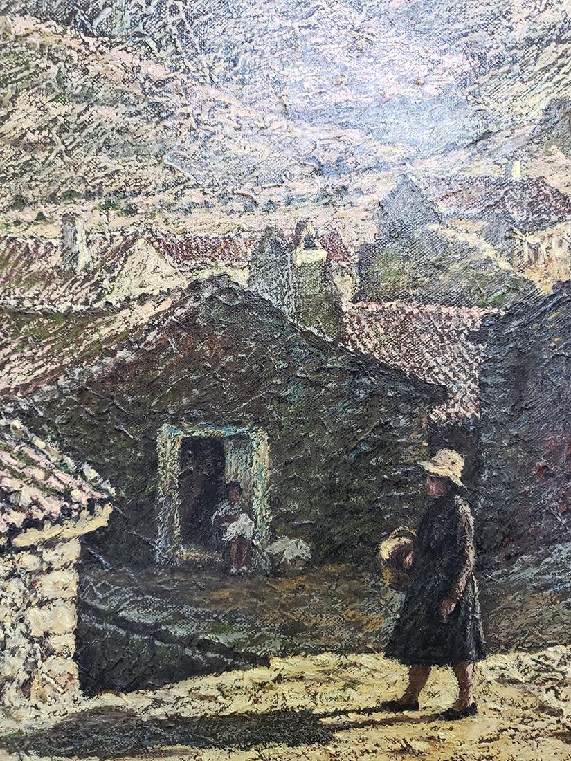 Oil on Canvas Jose Maria Fernandez Aguillo 1970 - 4