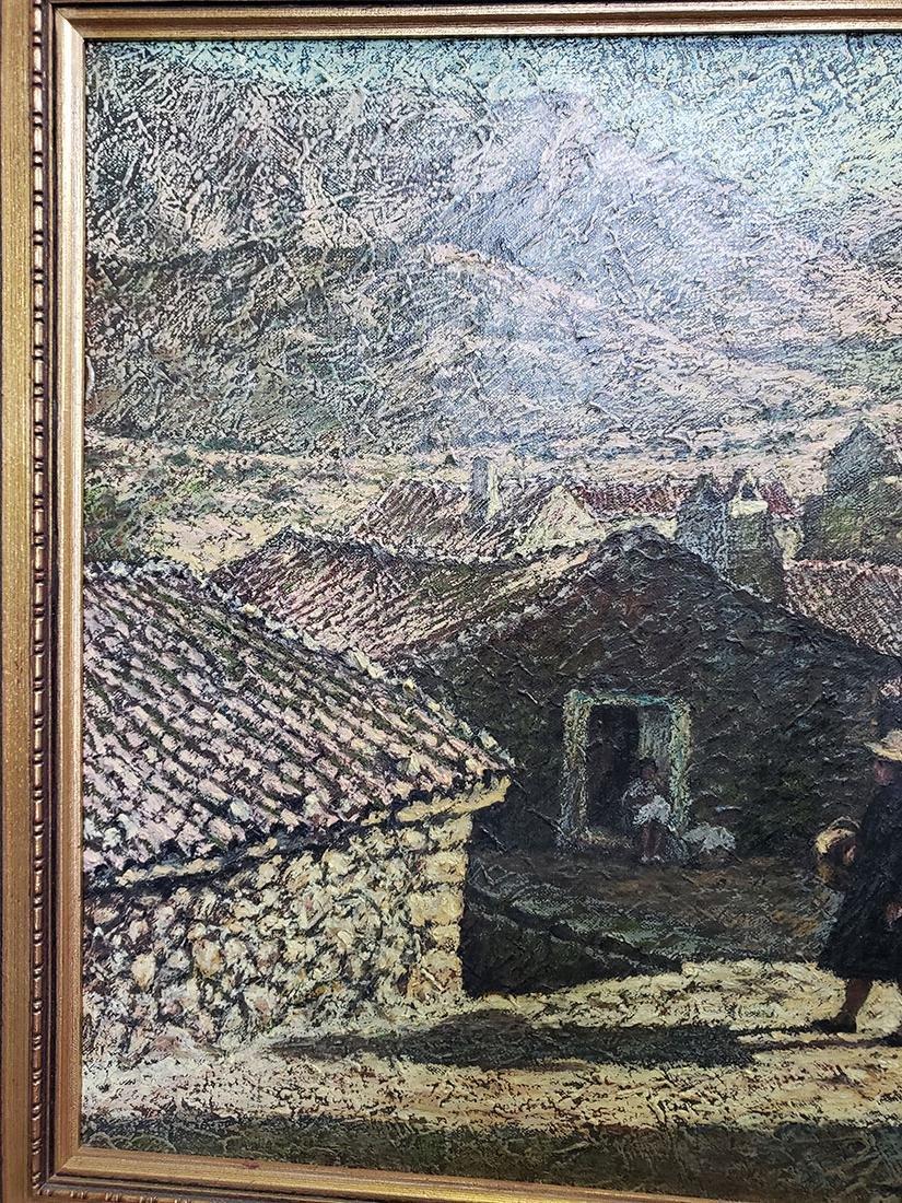 Oil on Canvas Jose Maria Fernandez Aguillo 1970 - 5