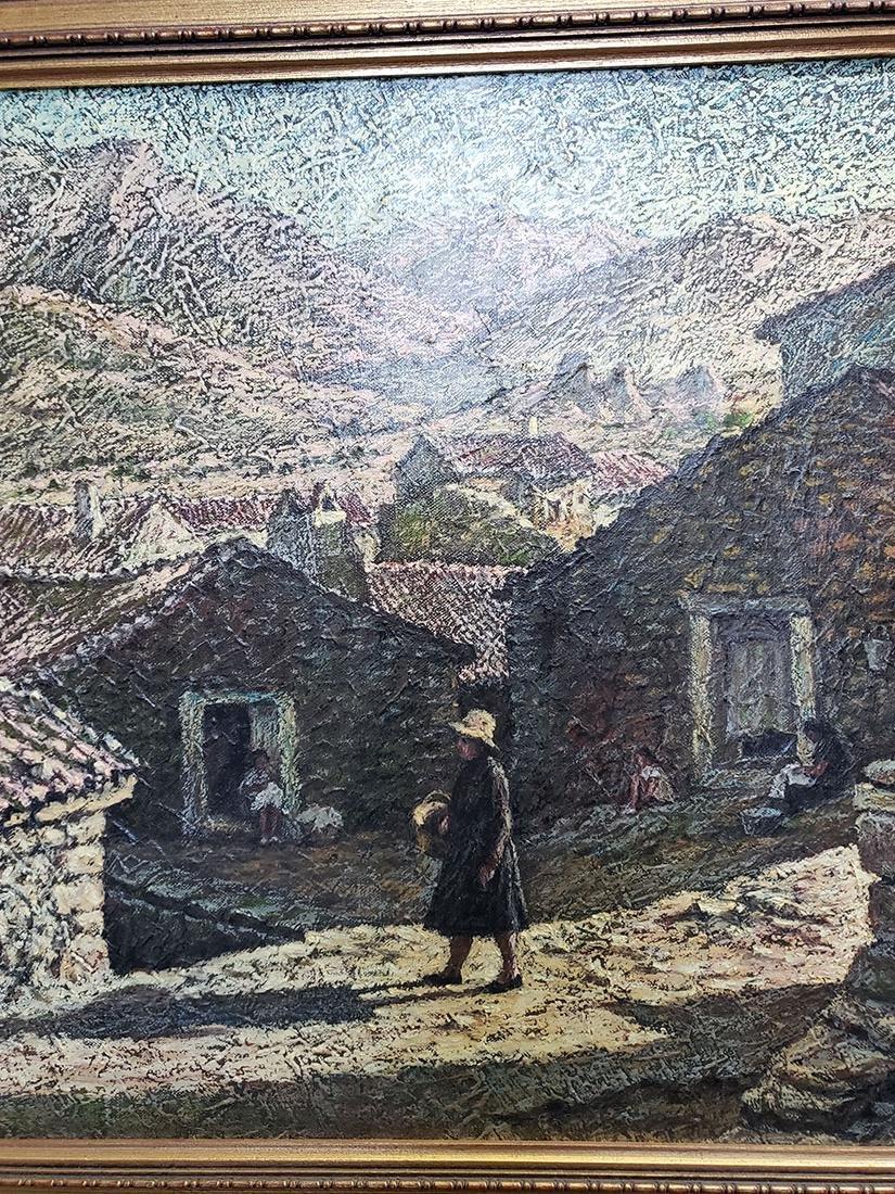 Oil on Canvas Jose Maria Fernandez Aguillo 1970 - 6