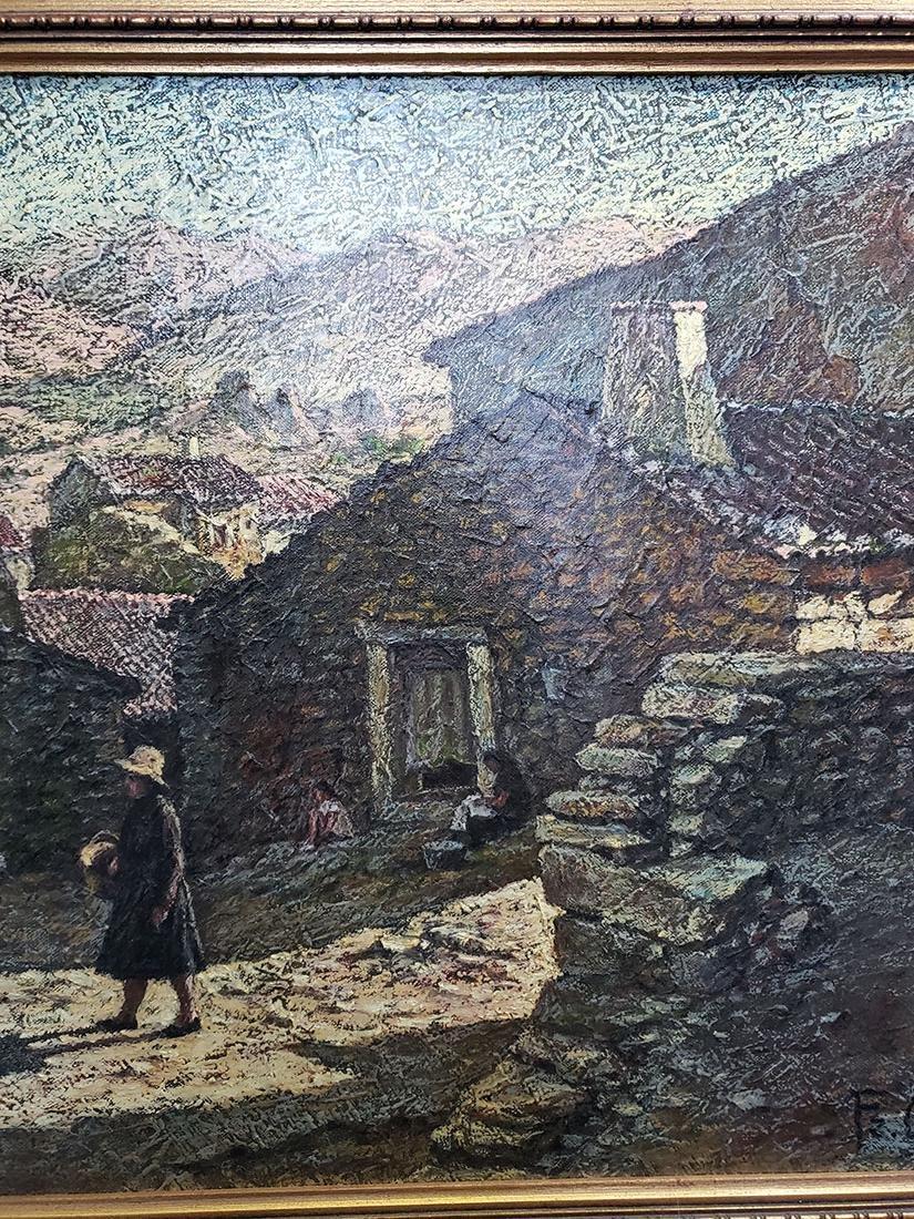 Oil on Canvas Jose Maria Fernandez Aguillo 1970 - 7