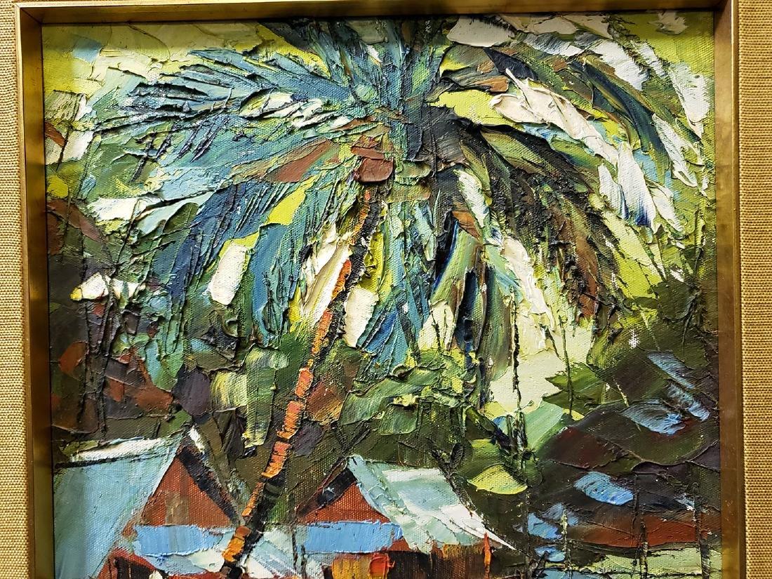 Oil on Board Sujarit Hirankul Painting - 10