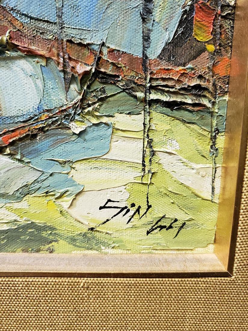 Oil on Board Sujarit Hirankul Painting - 3