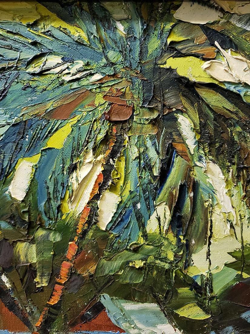 Oil on Board Sujarit Hirankul Painting - 6