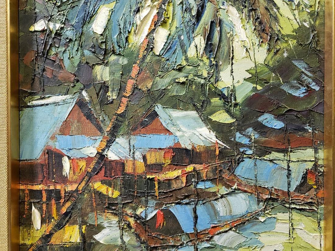 Oil on Board Sujarit Hirankul Painting - 9