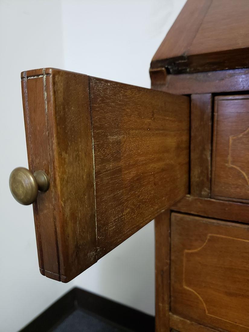 Early 19th Century Cherry Slant Front Desk - 4