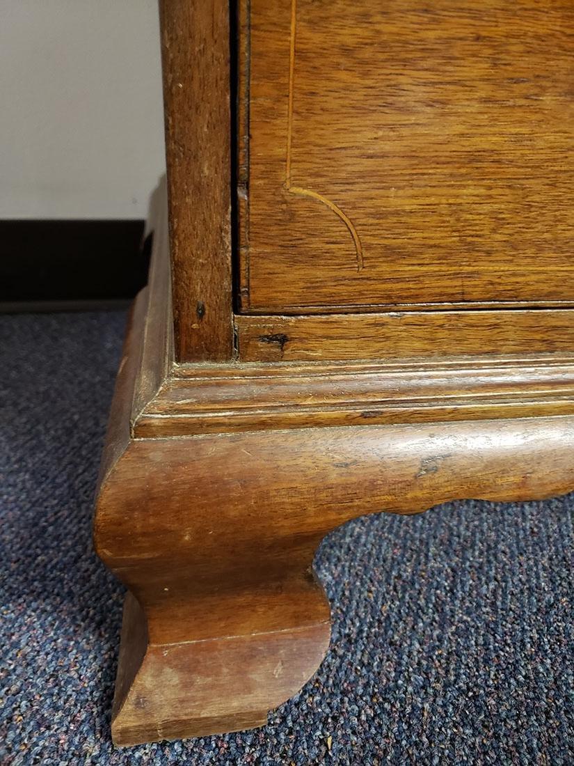 Early 19th Century Cherry Slant Front Desk - 5