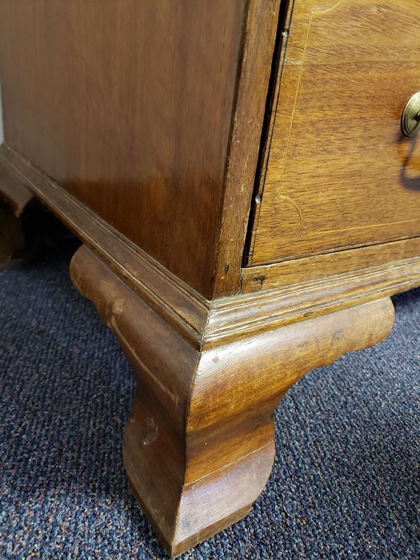 Early 19th Century Cherry Slant Front Desk - 6