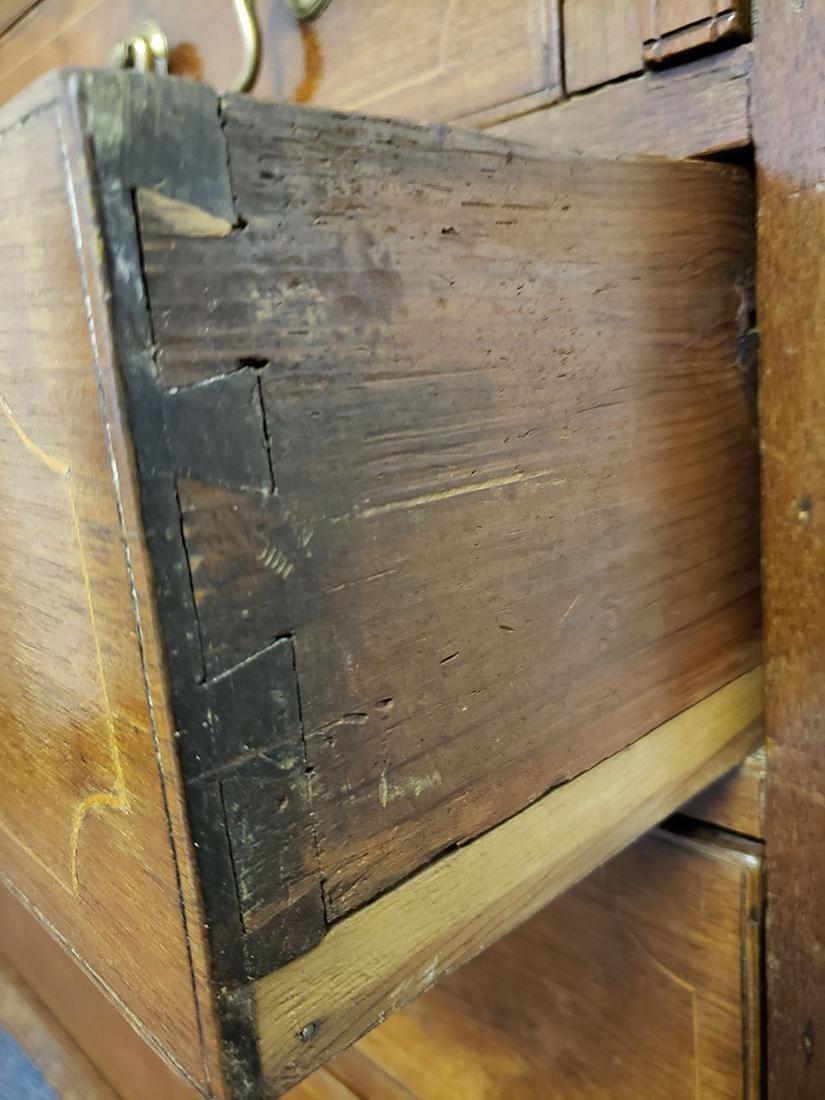 Early 19th Century Cherry Slant Front Desk - 7