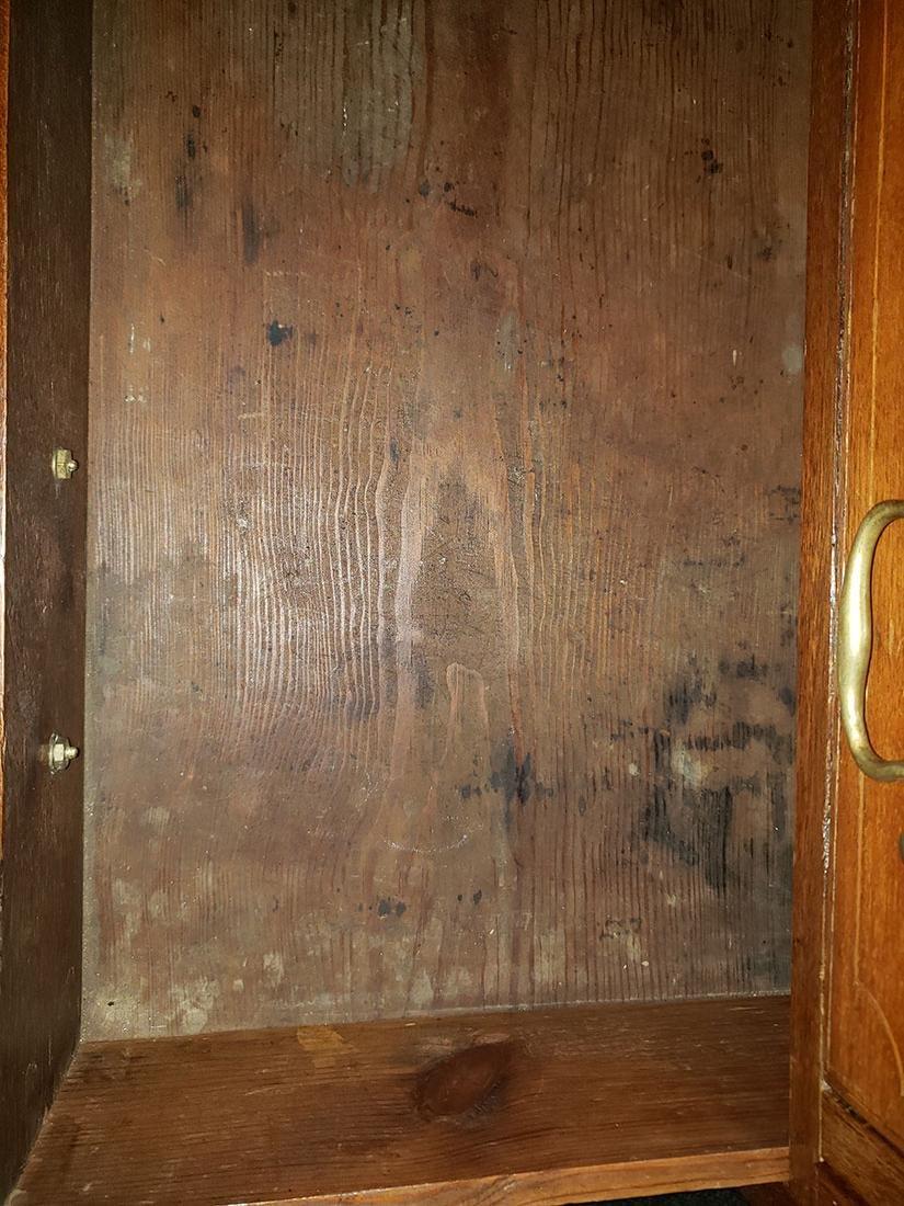 Early 19th Century Cherry Slant Front Desk - 8