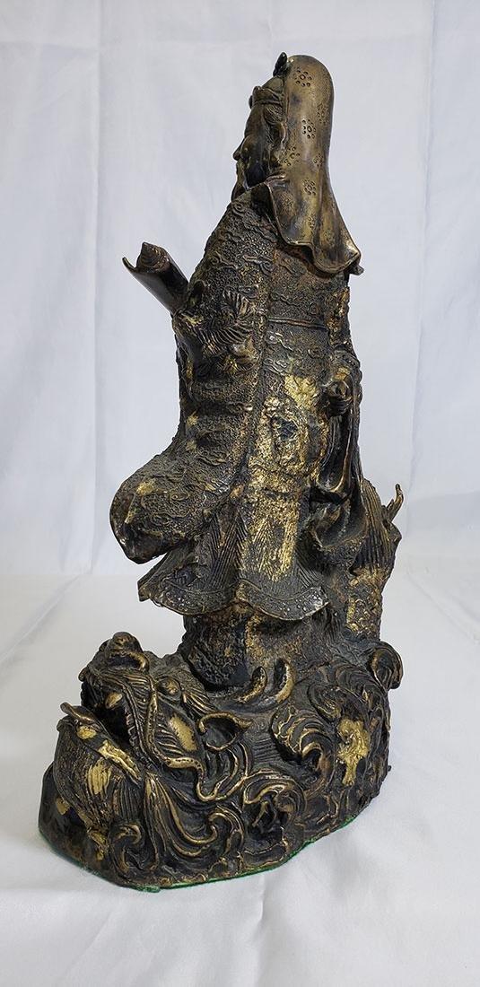 20th Century Chinese bronze figure - 7