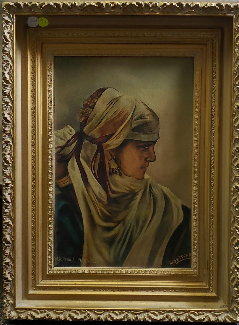 "Wschodnia Piekno`s`c Oil Painting ""CH. Latucha"""