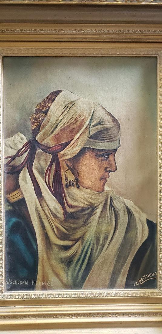 "Wschodnia Piekno`s`c Oil Painting ""CH. Latucha"" - 6"