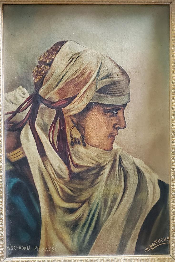 "Wschodnia Piekno`s`c Oil Painting ""CH. Latucha"" - 7"