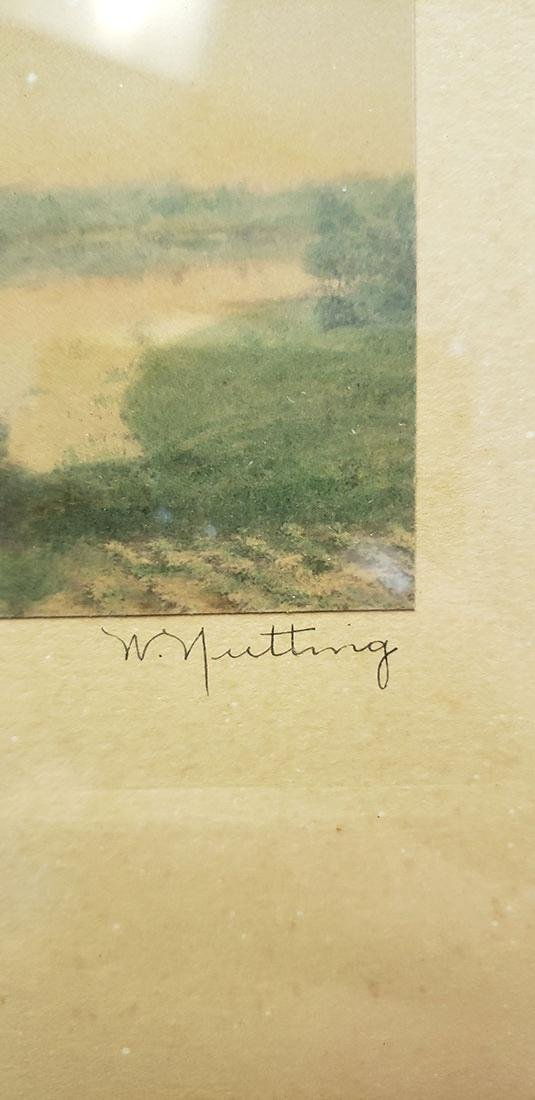 Three Wallace Nutting signed Prints - 4