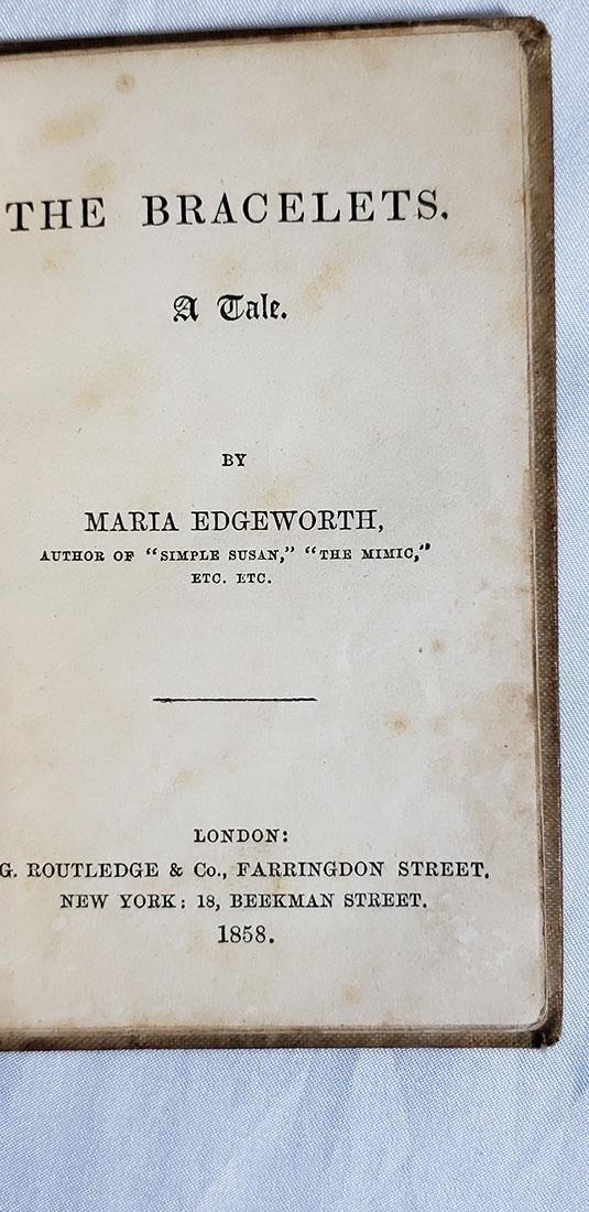 5 Antique Books-The Bracelets-Paradise Lost 1820-1858 - 3