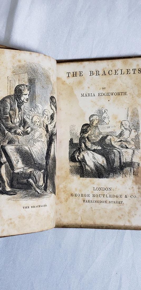 5 Antique Books-The Bracelets-Paradise Lost 1820-1858 - 4