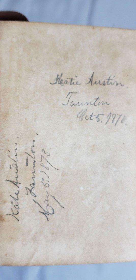 5 Antique Books-The Bracelets-Paradise Lost 1820-1858 - 5