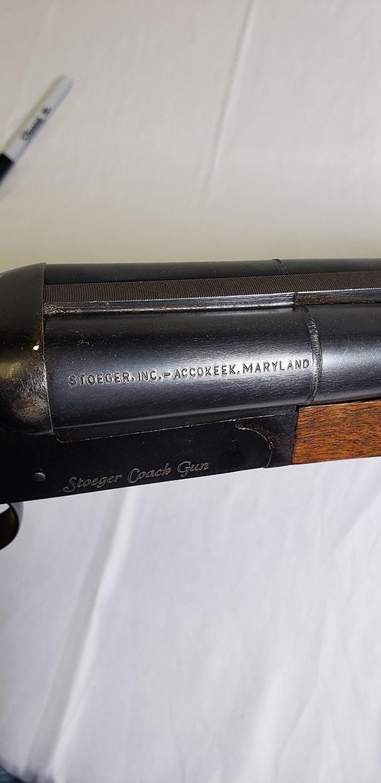 Stoeger 12 Gauge Double Barrel Coach Shotgun - 6