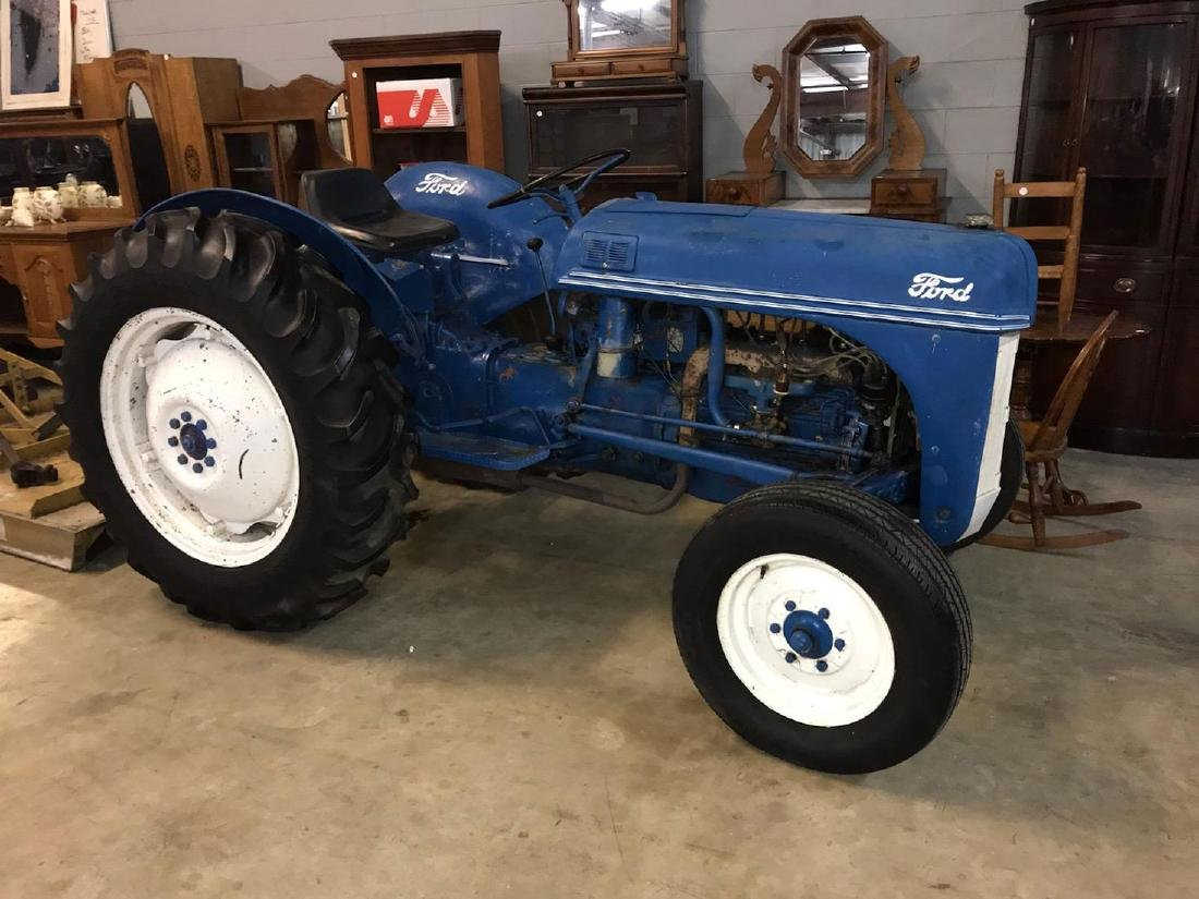 "1951 Ford 8N Tractor & Bush Hog ""Running Condition"""