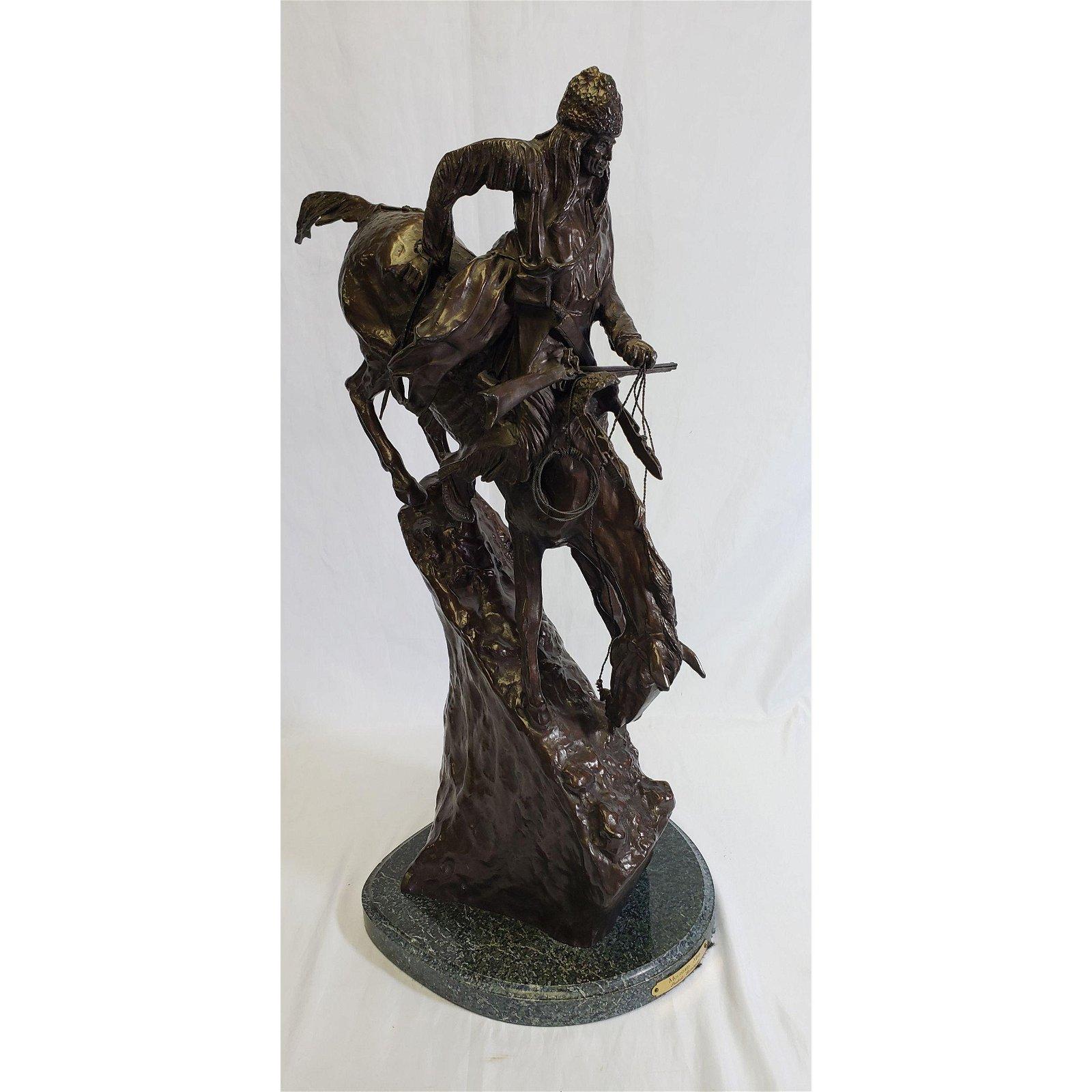 Frederic Remington Bronze Mountain Man - Large