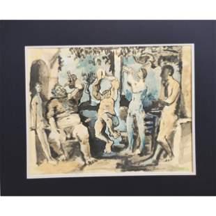 Pablo Picasso 1960's Pochoir -Wove Paper