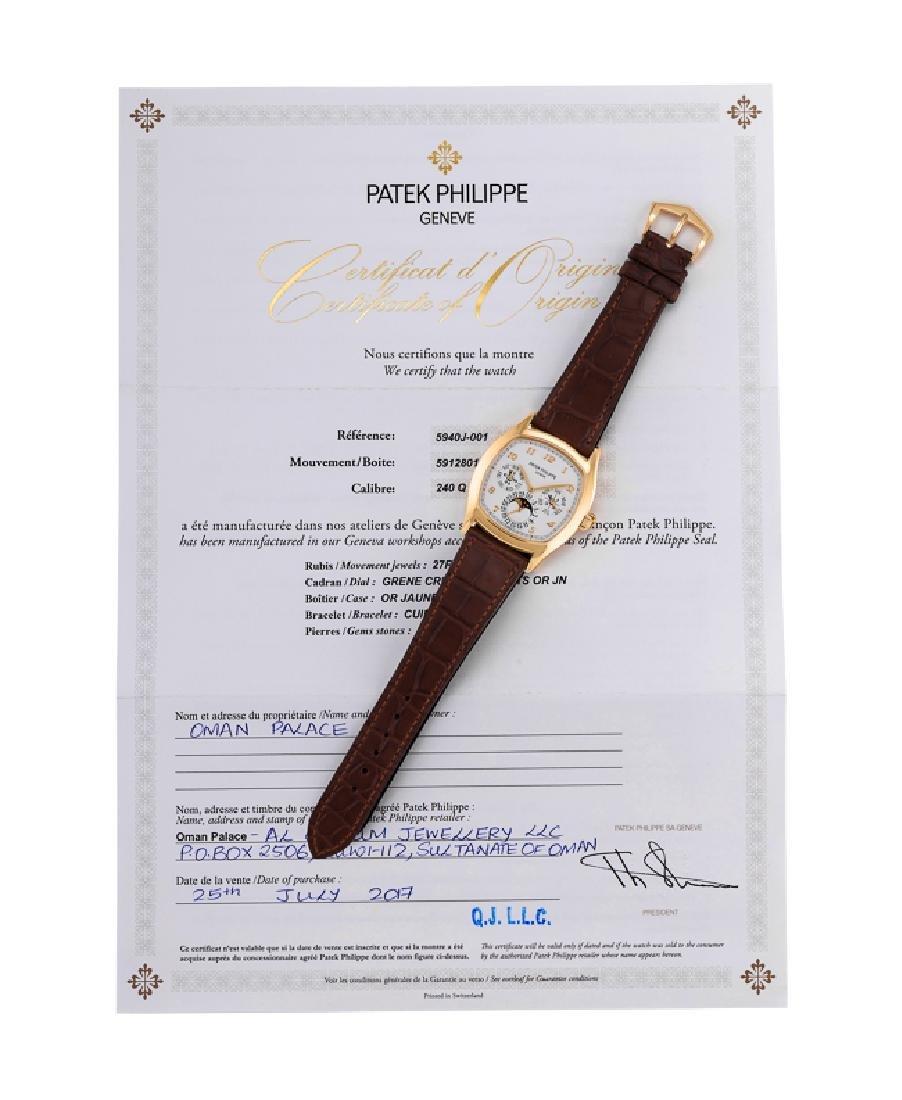 PATEK PHILIPPE A FINE PERPETUAL CALENDAR REF. 5940J-001 - 8