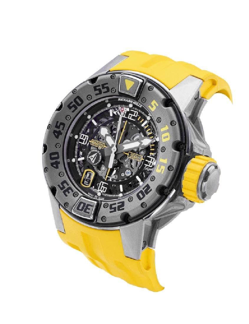 RICHARD MILLE A LARGE AND RARE LIMITED EDITION RM 028, - 3