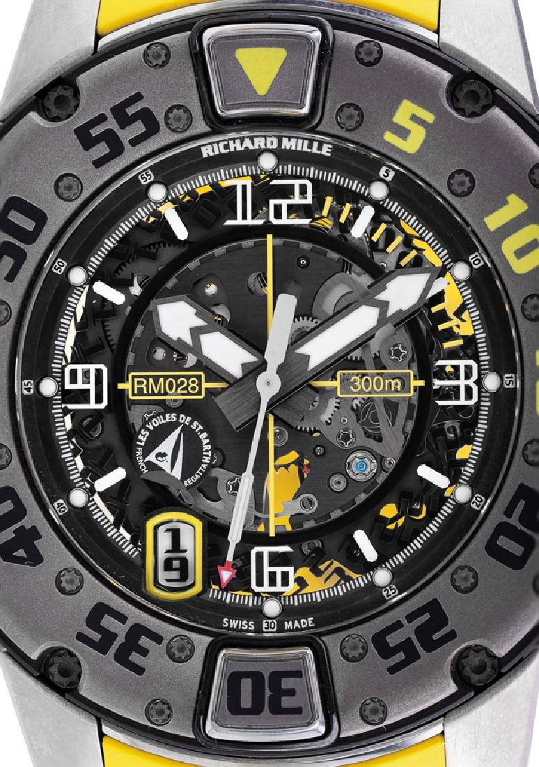 RICHARD MILLE A LARGE AND RARE LIMITED EDITION RM 028, - 6