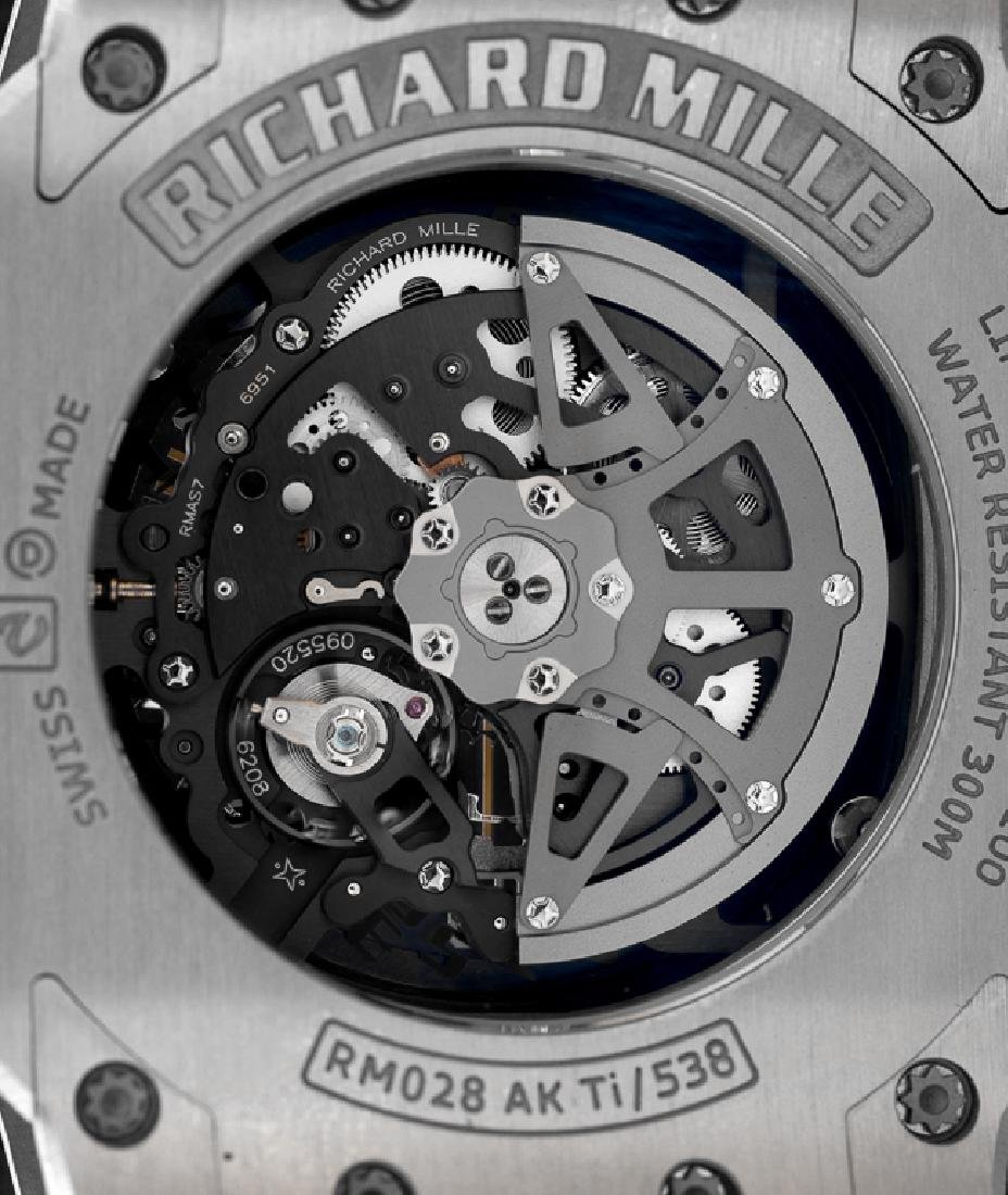 RICHARD MILLE A LARGE AND RARE LIMITED EDITION RM 028, - 8