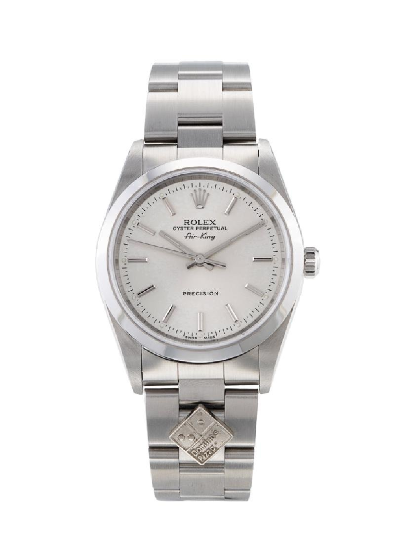 """ROLEX AIR-KING """"DOMINO'S PIZZA"""" REF. 14000M"""