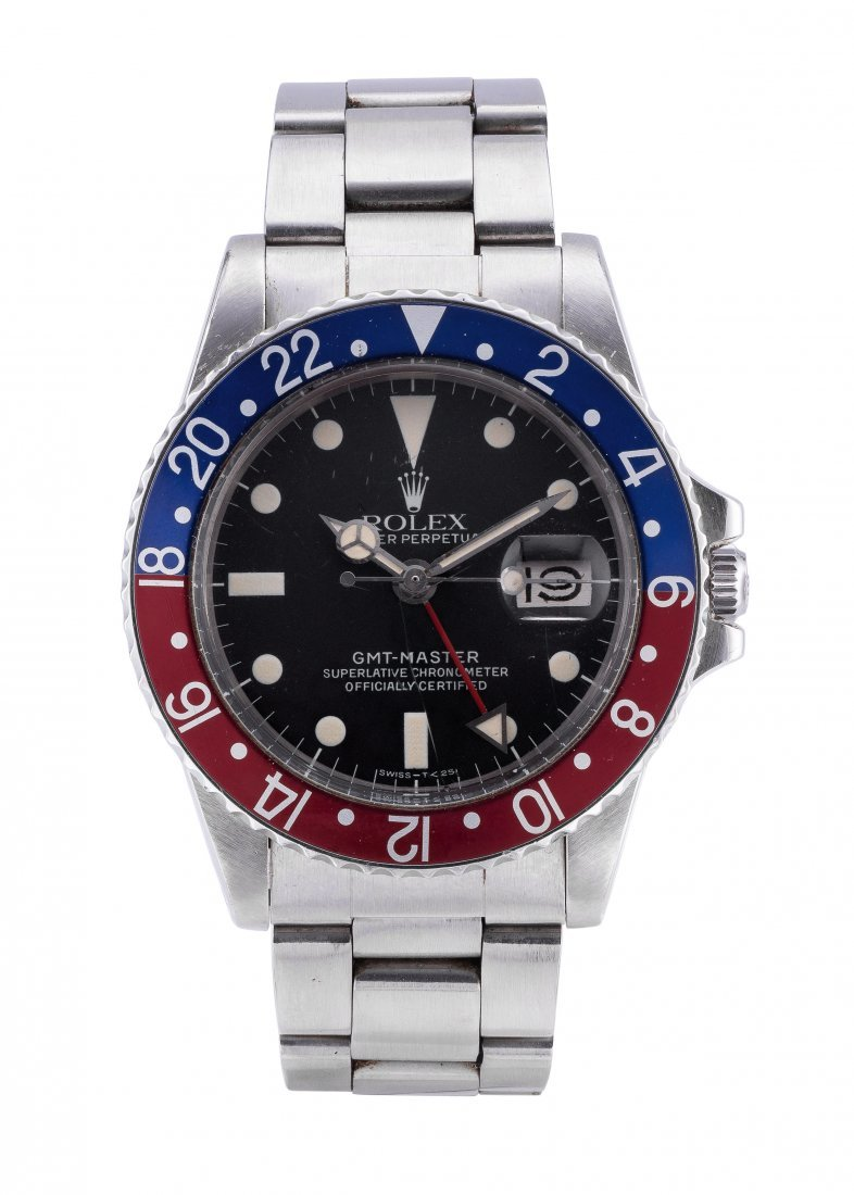 """ROLEX A RARE AND COLLECTIBLE GMT-MASTER """"PEPSI"""""""